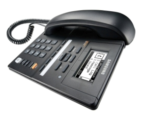 A_wide_Samsung_keyset_selection_voip_phone